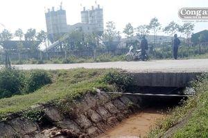 Hà Tĩnh: Nguồn nước kênh N3 và N34 bị ô nhiễm