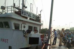 Đã xác định nguyên nhân tàu chở hàng 'khủng' va vào cầu Đồng Nai