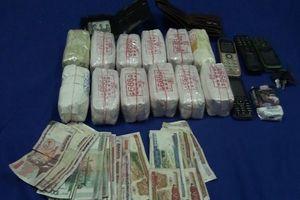 Bắt 3 đối tượng người Lào vận chuyển 24.000 viên ma túy tổng hợp