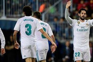 Không Ronaldo, Real vẫn thắng dễ Malaga
