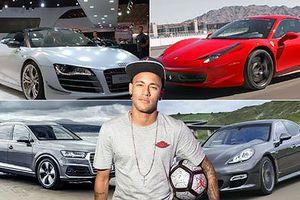 'Điểm danh' xế khủng của ngôi sao Neymar