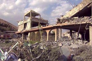 76 tên lửa liên quân Mỹ 'làm cỏ' trung tâm khoa học Syria qua hình ảnh vệ tinh