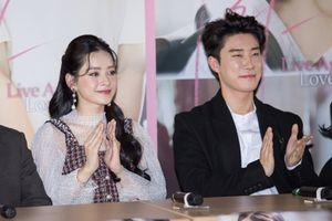 Hình ảnh Chi Pu xuất hiện khắp nơi trên các trang tin Hàn Quốc