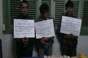 Quảng Bình: Bắt giữ 3 đối tượng vận chuyển ma túy qua biên giới