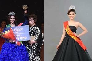 Hoa khôi Tiền Giang 2016 đoạt giải Á hậu Doanh nhân tại Nhật