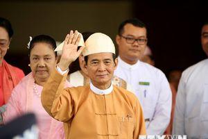Tân Tổng thống Myanmar cam kết thúc đẩy đất nước phát triển