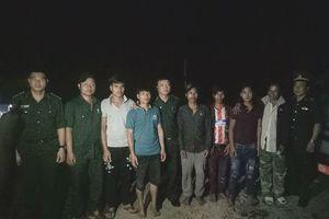 Giải cứu 11 phu vàng lao động khổ sai tại Quảng Nam