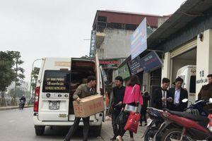 Hà Nội: Nhức nhối tình trạng xe hợp đồng 'trá hình' chạy tuyến cố định