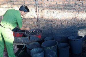 Phát hiện cơ sở chế biến cà phê 'bẩn' ở Đắk Nông