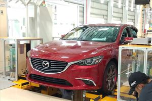 Trải nghiệm xe CX-5 mới lắp ráp tại nhà máy THACO Mazda