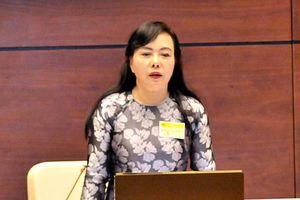 Bộ trưởng Nguyễn Thị Kim Tiến: 'Không để bác sĩ đơn độc trước hành vi bạo lực'