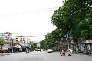 Hà Nội: Nhiều phương tiện bị cấm lưu thông trên phố Cát Linh