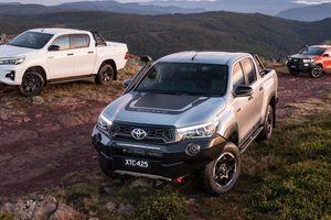 Ngắm 3 phiên bản bán tải Hilux mới của Toyota