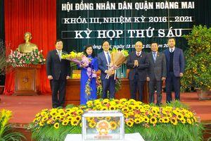Hoàng Mai có tân Phó Chủ tịch UBND quận