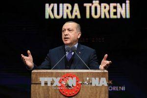Thổ Nhĩ Kỳ tuyên bố thời điểm tổ chức tổng tuyển cử trước thời hạn