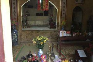 Vĩnh Phúc: Điều tra vụ án chùa Quang Khánh bị đánh cắp 7 pho tượng Phật