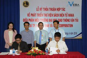 Sinh viên trường ĐH GTVT tại TP.HCM được đọc sách điện tử miễn phí