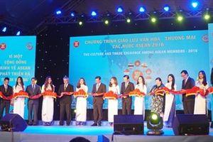 Khai mạc chương trình giao lưu văn hóa – thương mại các nước ASEAN