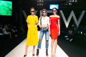 Hoa hậu H'hen Niê, Á hậu Hoàng Thùy, Á hậu Mâu Thủy diễn mở màn 'Vietnam International Fashion Week 2018'