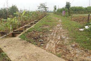 Nâng 'khống' nhiều tỷ đồng tại dự án ngăn mặn ở Nghệ An