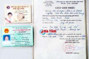 Hà Tĩnh đề nghị xử lý người mạo danh phóng viên để hoạt động báo chí