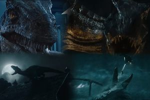 'Jurassic World: The Fallen Kingdom' tung trailer cuối rùng rợn và hoang dã