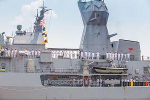 Uy lực 3 tàu Hải quân Australia thăm thiện chí Việt Nam