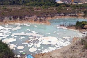 Phát hiện đối tượng xả chất thải lỏng từ KCN Texhong ra ruộng lúa