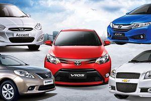 Toyota Vios bán chạy nhất - tiện nghi, an toàn kém nhất