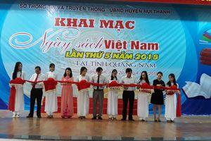 Hơn 5.000 đầu sách trưng bày tại Ngày sách Việt Nam tỉnh Quảng Nam