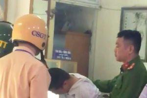 Bắt nghi phạm cướp tiệm vàng tại Hà Nội