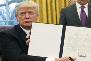 Chiêu trò của Trump với TPP