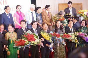 NSND Quốc Chiêm trúng cử Chủ tịch Hội Liên hiệp VHNT Hà Nội