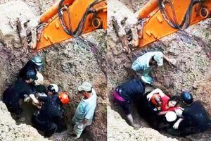 2 vợ chồng sống sót kỳ diệu khi bị vùi sâu dưới 2m đất