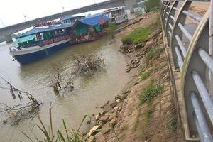 Công trình kè sông Mã chục tỷ xuống cấp nghiêm trọng