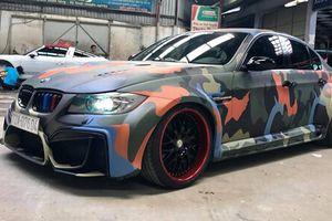 BMW 3-Series sơn màu Camo độc đáo tại Việt Nam