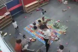 Sở GD&ĐT Nghệ An yêu cầu tạm đình chỉ công tác cô giáo bạo hành trẻ gây phẫn nộ