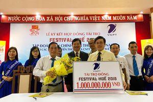 VNPT tài trợ các dịch vụ VT-CNTT trị giá 1 tỷ đồng cho Festival Huế 2018