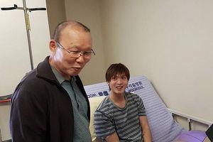HLV Park Hang Seo đi thăm Tuấn Anh, hứa 'đợi em bình phục'