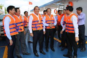 Phó Thủ tướng dự lễ khánh thành bến phà kết nối TPHCM-Long An