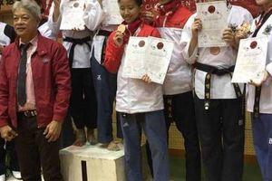 Taekwondo Việt Nam giành 4 HCV tại ngày thi đấu đầu tiên của Giải vô địch Taekwondo các câu lạc bộ quốc tế 2018