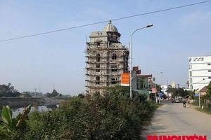 Phú Xuyên - Hà Nội: Công trình khủng lấn chiếm đất công ngay gần trụ sở xã Phú Yên có được hợp thức hóa?