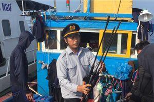 Xử phạt chủ tàu đánh cá bằng súng bắn điện
