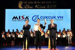 Với hai giải Sao Khuê 2018, MISA khẳng định vị thế tiên phong trong cuộc Cách mạng công nghệ 4.0