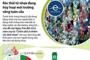 Rác thải từ nhựa đang hủy hoại môi trường sống