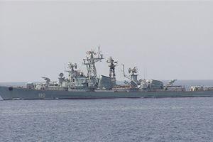 Tàu chiến mang tên lửa dẫn đường Nga đến Syria