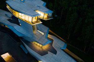 Biệt thự như phi thuyền vũ trụ của tỷ phú Nga gây kinh ngạc giới kiến trúc