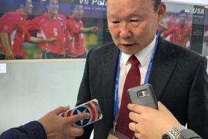 HLV Park Hang Seo nói gì khi U19 Việt Nam hòa U19 Hàn Quốc?