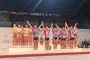 Việt Nam xuất sắc giành 3 HCV tại Giải Aerobic Suzuki Cúp thế giới
