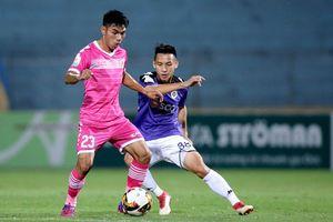 Hà Nội FC bất ngờ bị cầm hòa trên sân vận động Hàng Đẫy